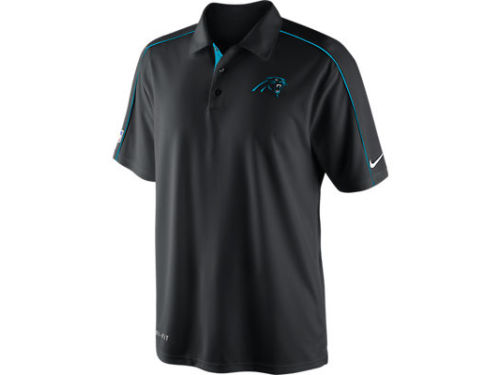 Carolina Panthers Nike NFL Coaches 1 Polo