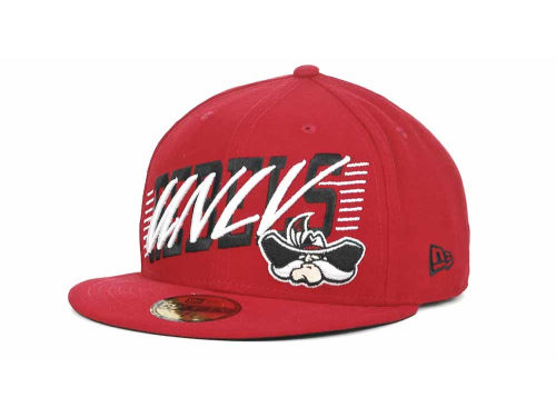 UNLV Runnin Rebels New Era NCAA Writers Block 59FIFTY Hats