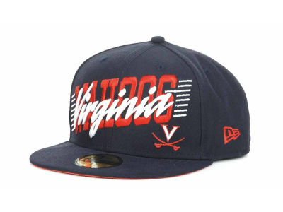 Virginia Cavaliers NCAA Writers Block 59FIFTY Hats