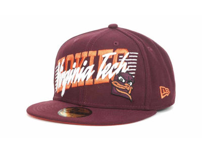 Virginia Tech Hokies NCAA Writers Block 59FIFTY Hats