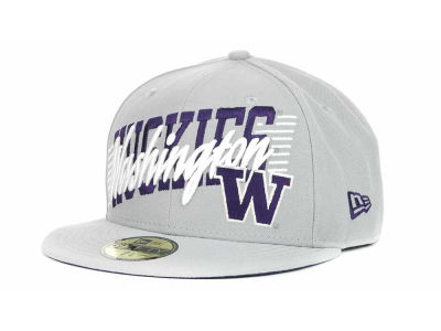Washington Huskies NCAA Writers Block 59FIFTY Hats