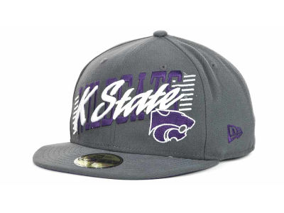 Kansas State Wildcats NCAA Writers Block 59FIFTY Hats