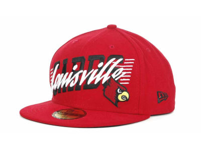 Louisville Cardinals NCAA Writers Block 59FIFTY Hats
