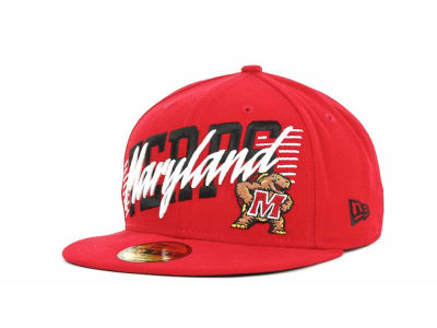Maryland Terrapins NCAA Writers Block 59FIFTY Hats