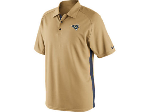 Los Angeles Rams Nike NFL Coaches 2 Polo