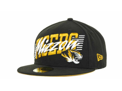 Missouri Tigers NCAA Writers Block 59FIFTY Hats