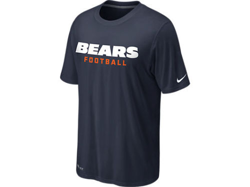 Chicago Bears Nike NFL Legend Authentic Font T-Shirt