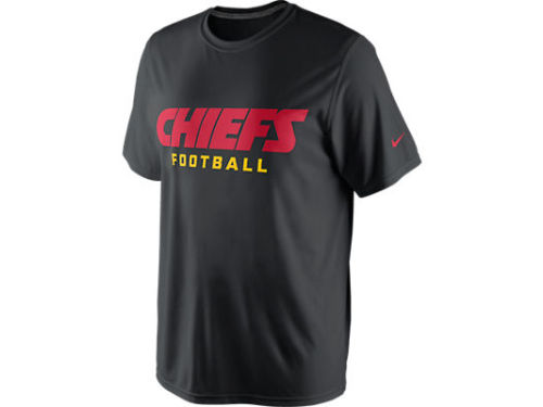 Kansas City Chiefs Nike NFL Legend Authentic Font T-Shirt