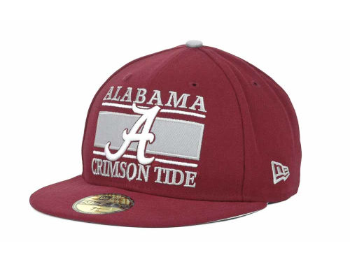 Alabama Crimson Tide New Era NCAA Frosh 59FIFTY Hats