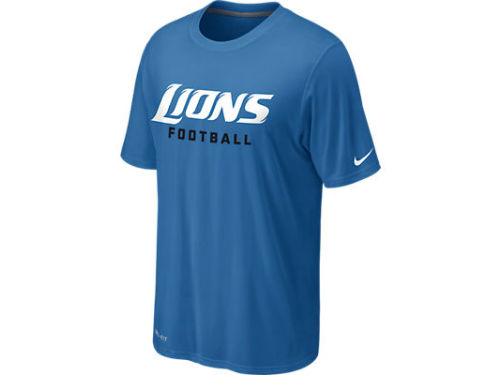 Detroit Lions Nike NFL Legend Authentic Font T-Shirt
