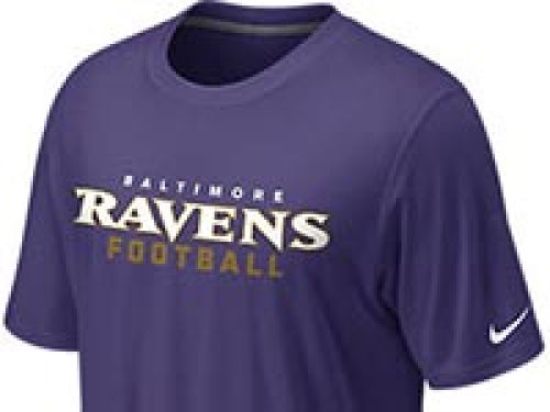 Baltimore Ravens Nike NFL Legend Authentic Font T-Shirt