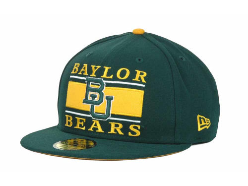 Baylor Bears New Era NCAA Frosh 59FIFTY Hats