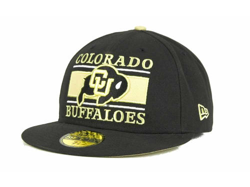 Colorado Buffaloes New Era NCAA Frosh 59FIFTY Hats