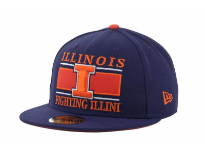 Illinois Fighting Illini NCAA Frosh 59FIFTY Hats