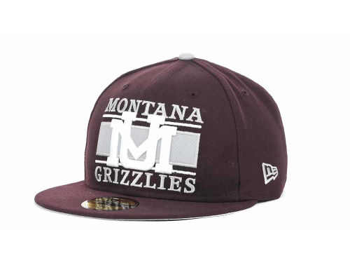 Montana Grizzlies New Era NCAA Frosh 59FIFTY Hats