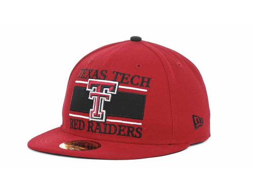 Texas Tech Red Raiders New Era NCAA Frosh 59FIFTY Hats