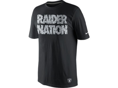 Oakland Raiders Nike NFL Local T-Shirt