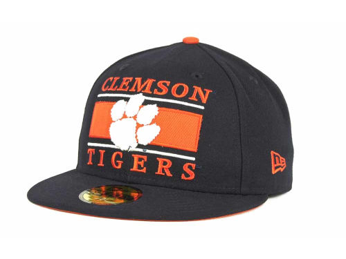 Clemson Tigers New Era NCAA Frosh 59FIFTY Hats