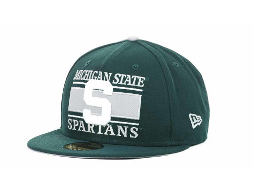 Michigan State Spartans New Era NCAA Frosh 59FIFTY Hats