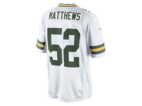 Green Bay Packers Clay Matthews Nike NFL Men's Limited Jersey