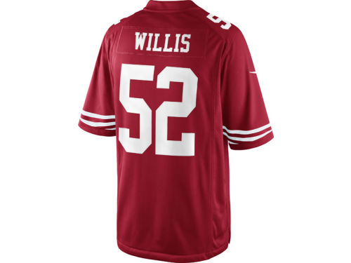 San Francisco 49ers Patrick Willis Nike NFL Limited Jersey