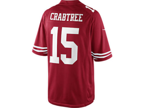 San Francisco 49ers Michael Crabtree Nike NFL Men's Limited Jersey
