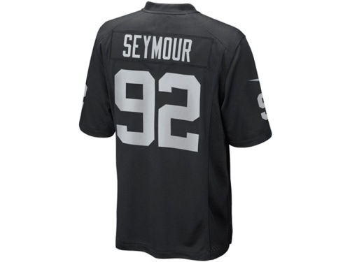 Oakland Raiders Richard Seymour Nike NFL Limited Jersey