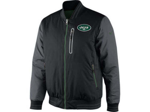 New York Jets Nike NFL Reversible Destroyer OW Jacket