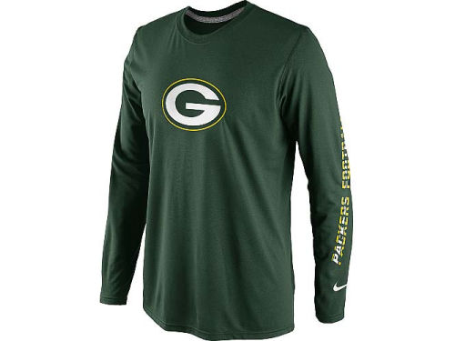 Green Bay Packers Nike NFL Legend Conference Long Sleeve T-Shirt