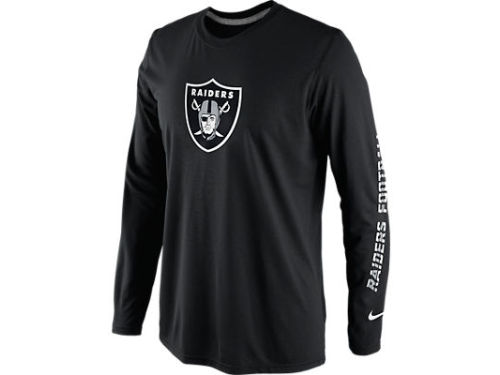Oakland Raiders Nike NFL Legend Conference Long Sleeve T-Shirt