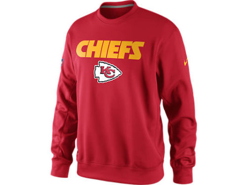 Kansas City Chiefs Nike NFL KO Fleece Crew
