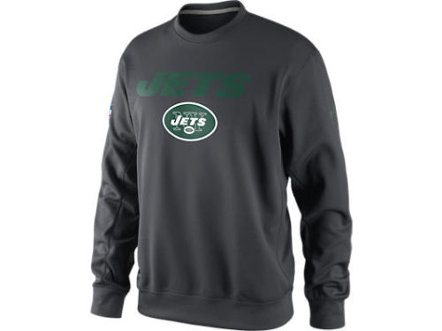 New York Jets Nike NFL KO Fleece Crew