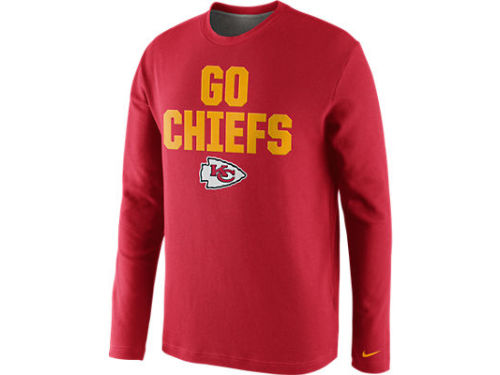 Kansas City Chiefs Nike NFL Local Thermal Crew Top