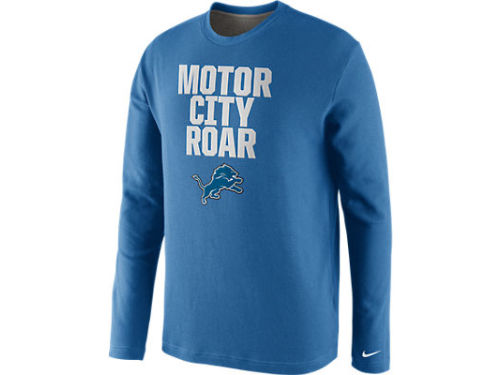 Detroit Lions Nike NFL Local Thermal Crew Top
