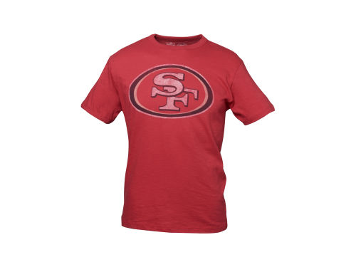 San Francisco 49ers '47 Brand NFL Logo Scrum T-Shirt