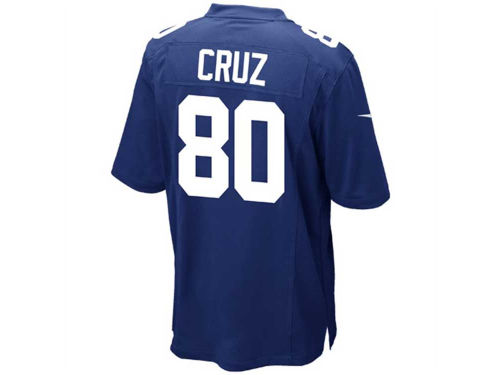 New York Giants Victor Cruz Nike NFL Game Jersey