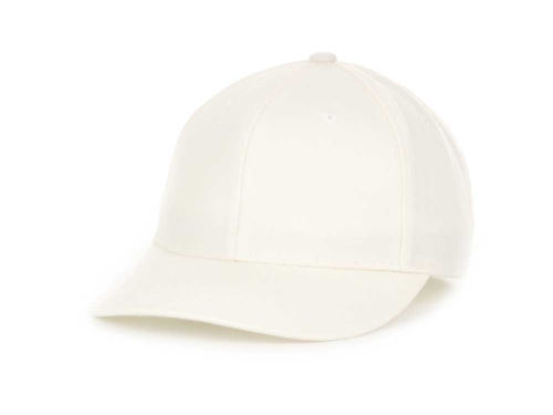 Top of the World Blank White Wool Fitted Cap Hats