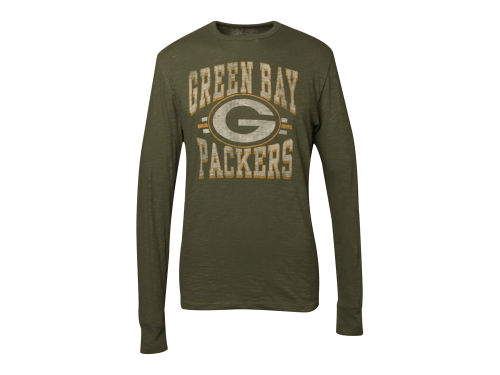Green Bay Packers '47 Brand NFL Logo Scrum Long Sleeve T-Shirt