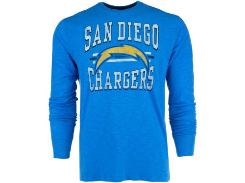 San Diego Chargers '47 NFL Logo Scrum Long Sleeve T-Shirt