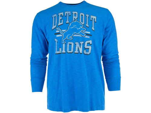 Detroit Lions '47 NFL Logo Scrum Long Sleeve T-Shirt
