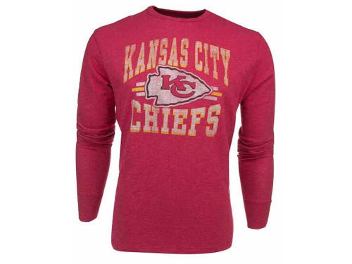 Kansas City Chiefs '47 Brand NFL Logo Scrum Long Sleeve T-Shirt