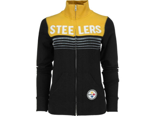 Pittsburgh Steelers '47 Brand NFL Womens Playoff Track Jacket