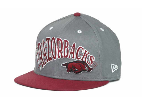 Arkansas Razorbacks New Era NCAA Megastar 9FIFTY Snapback Hats