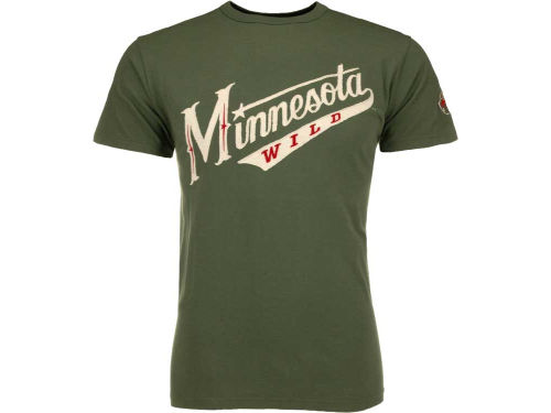 Minnesota Wild '47 NHL Fieldhouse Basic T-Shirt