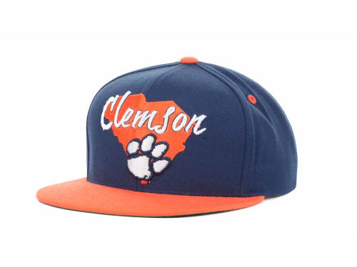 Clemson Tigers Top of the World NCAA State Of Snapback Cap Hats