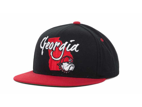 Georgia Bulldogs Top of the World NCAA State Of Snapback Cap Hats