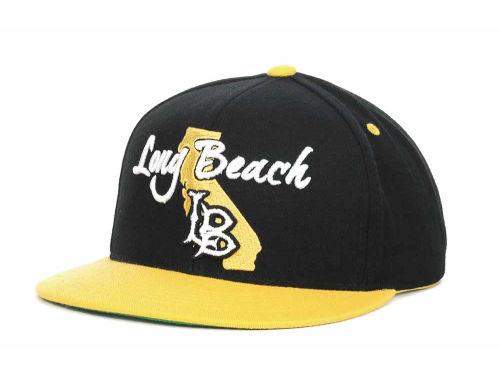 Long Beach State 49ers Top of the World NCAA State Of Snapback Cap Hats