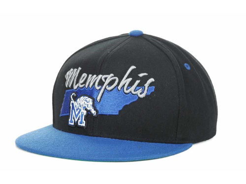 Memphis Tigers Top of the World NCAA State Of Snapback Cap Hats