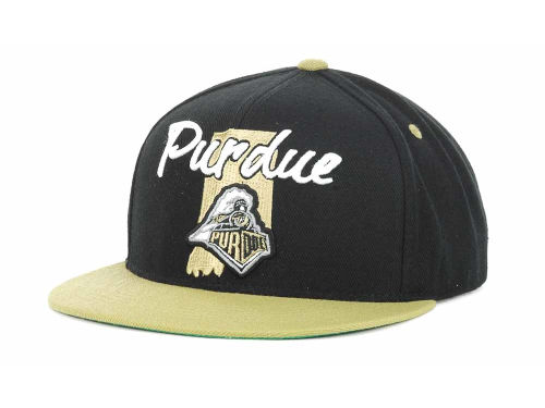 Purdue Boilermakers Top of the World NCAA State Of Snapback Cap Hats