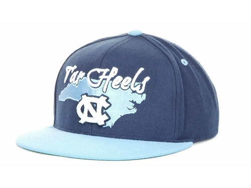 North Carolina Tar Heels Top of the World NCAA State Of Snapback Cap Hats